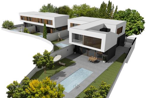Arias recalde taller de arquitectura - Fachadas viviendas unifamiliares ...